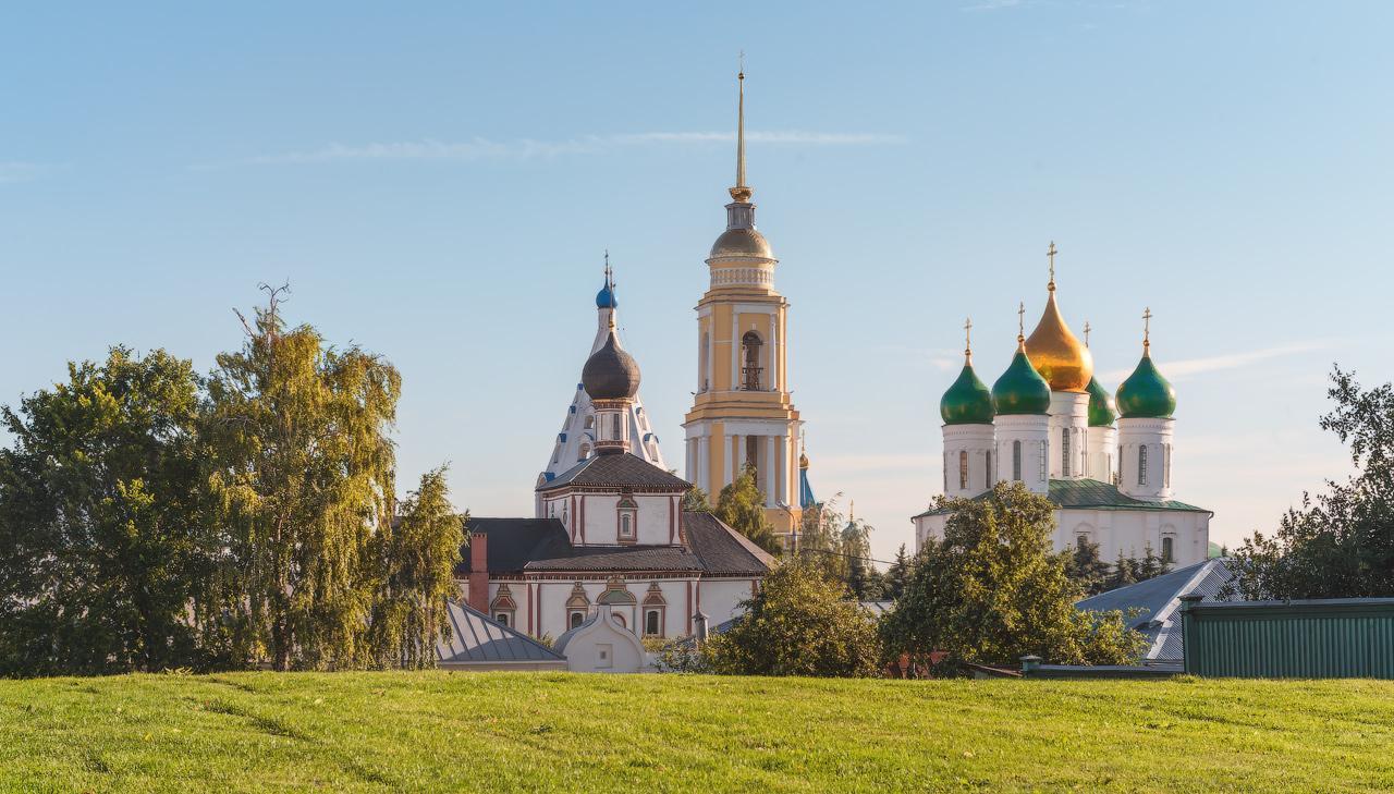 Вид на кремль со стороны Ямской
