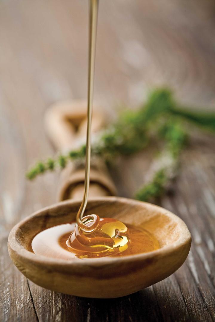 мед.льется